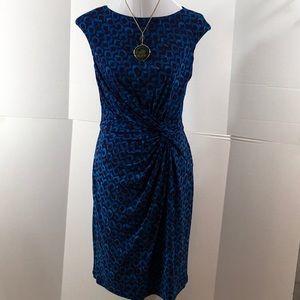 Ralph Lauren twist waist dress